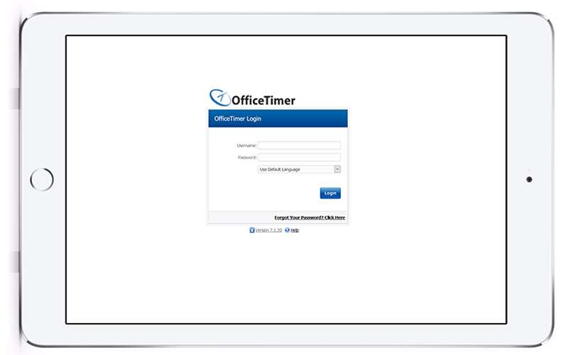 timesheet software mobile view