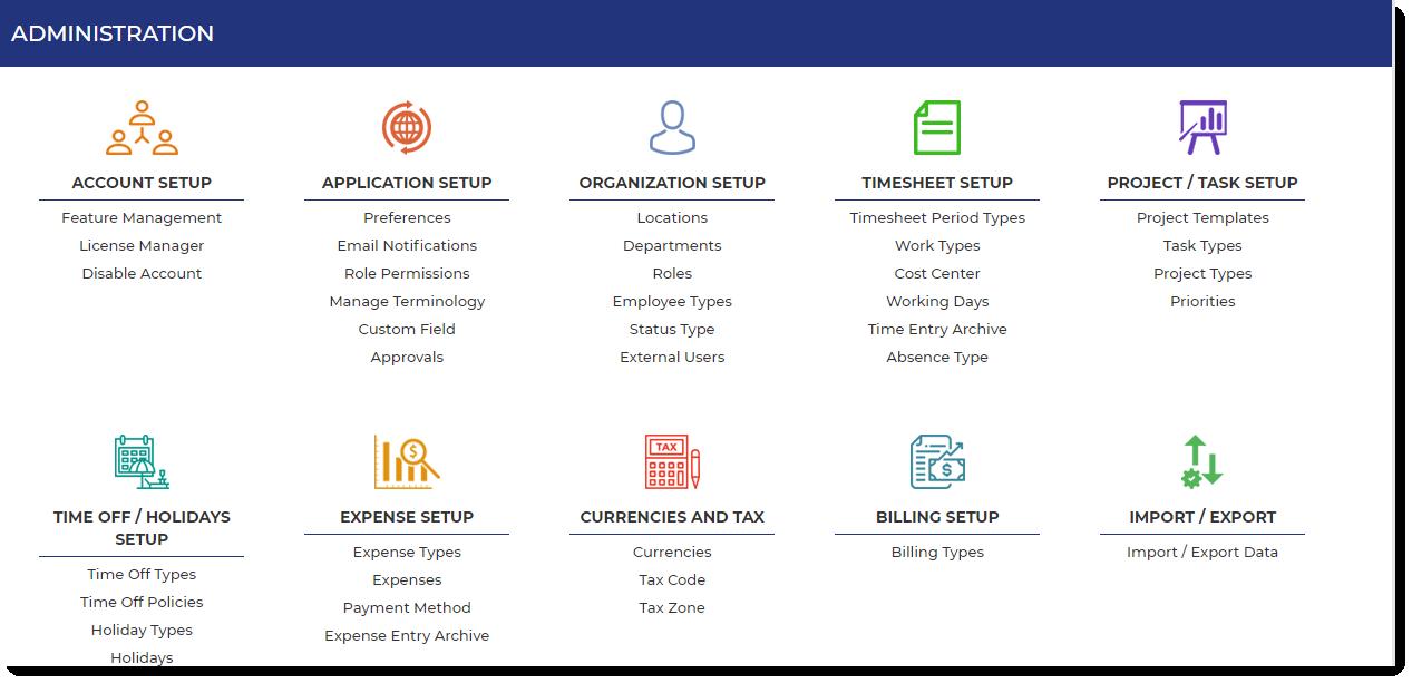OfficeTimer Admin Dashboard